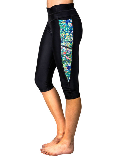 "Athletic Leggings, ""The Unresolved Chord"" (limited production) - Dress Abstract - 1"