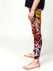 "Leggings, ""Between White and Black"" (limited production) - Dress Abstract - 2"