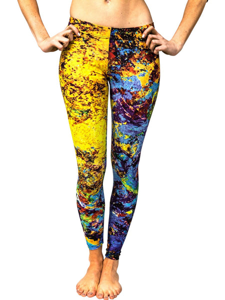 "Leggings, ""Alchemy"" (limited production) - Dress Abstract - 1"
