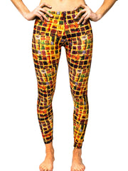 "Leggings, ""The Wall"" (limited production) - Dress Abstract - 1"