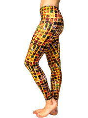 "Leggings, ""The Wall"" (limited production) - Dress Abstract - 2"