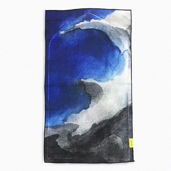 BLACK SAND BEACH TRAVEL PRAYER MAT