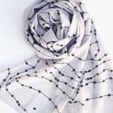 REFORMATION LUXE GEORGETTE SCARF