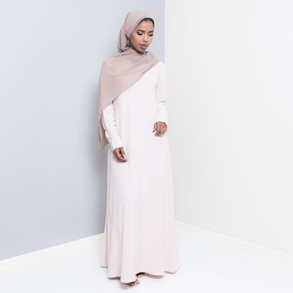 SAHARA NUDE STAPLE DRESS
