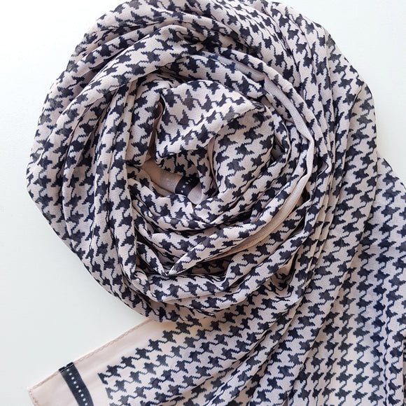 LATTE CLASSIC LUXE GEORGETTE SCARF
