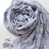 CONCRETAL LUXE GEORGETTE SCARF
