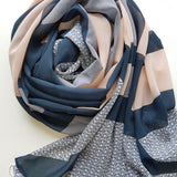 NORDIC VIBES LUXE GEORGETTE SCARF