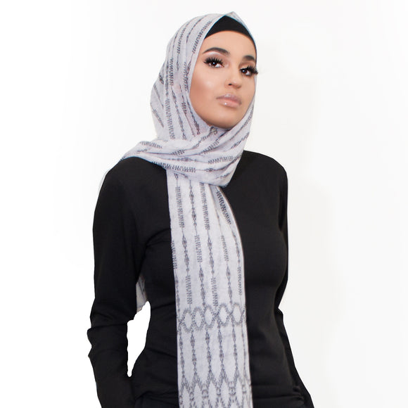 VICTORIA LUXE GEORGETTE SCARF