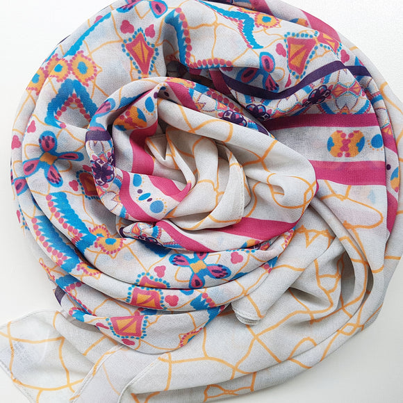 THESTIA LUXE GEORGETTE SCARF