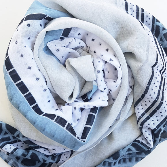 OIA LUXE GEORGETTE SCARF