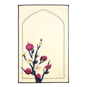 QENZA PRAYER MAT - GRANADA (CREAM)