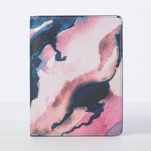 PINK LAKES PASSPORT COVER