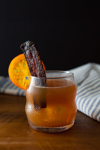 MAPLE BACON WHISKEY SPICED CIDER COCKTAIL
