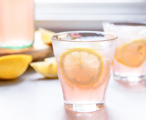 Cheers to Summertime with Rosé Lemonade!