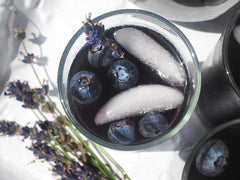 Drinking Divas Blueberry Lavender Vodka Spritzer