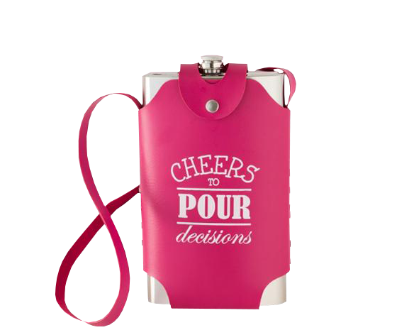 Cheers to Pour Decisions 64 Ounce Flask
