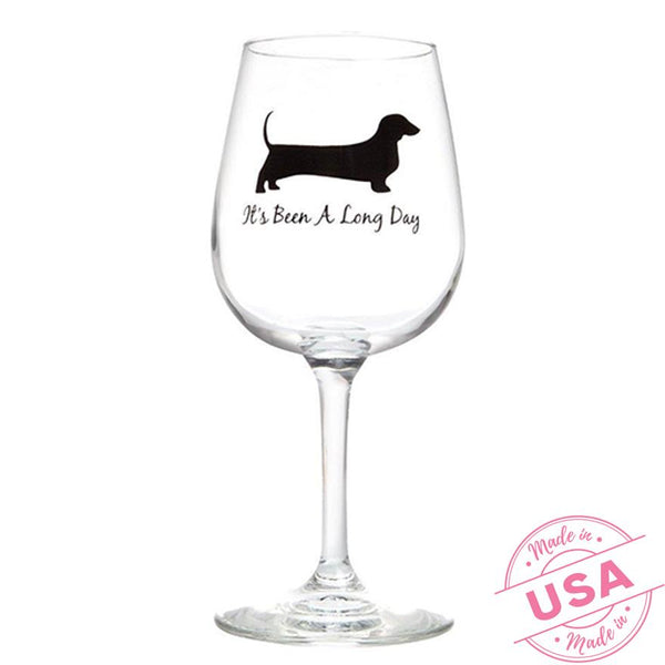It's Been a Long Day Wine Glass