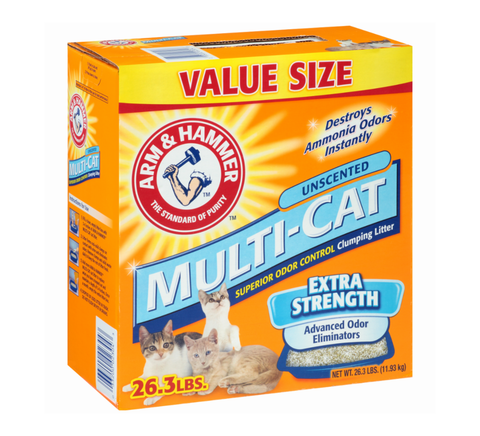 Multi Cat Unscented Clumping Litter
