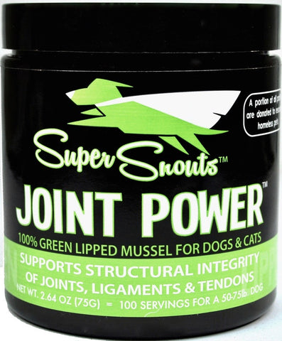 Super Snouts Joint Powder Green Lipped Muscle for Cats & Dogs