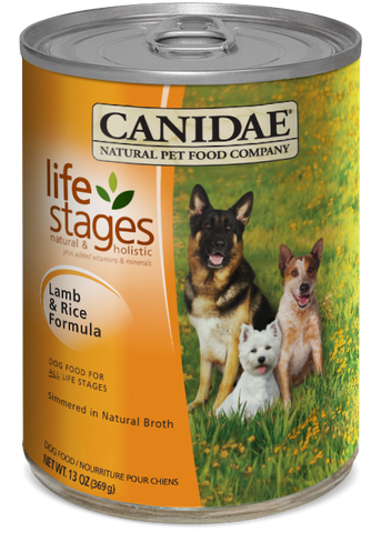 Canidae All Life Stages Dog Wet Food Made with Lamb & Rice