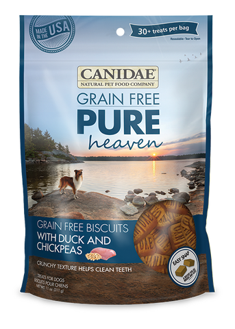 Canidae Grain Free Pure Heaven Adult Dog Biscuits with Duck & Chickpeas