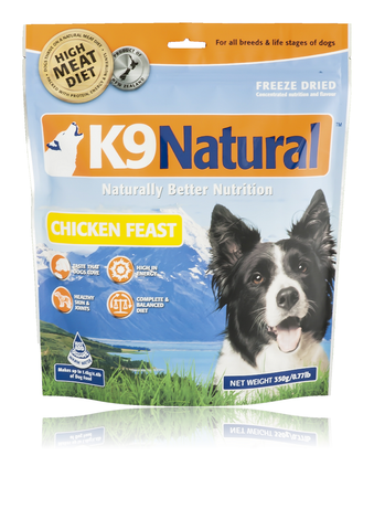 K9 Naturals Freeze Dried Chicken Feast