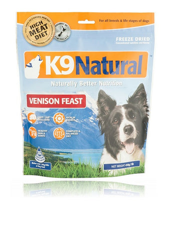 K9 Naturals Freeze Dried Venison Feast