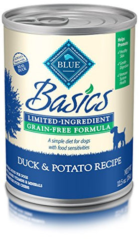 Blue Basics Limited Ingredient Duck Grain Free Canned Dog Food