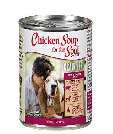 Beef & Legumes Stew Grain Free Canned Dog Food