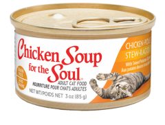 Chicken Stew with Sweet Potatoes & Spinach Adult Grain Free Canned Cat Food