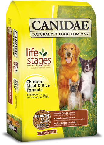 Canidae All Life Stages Dog Food with Chicken Meal & Rice