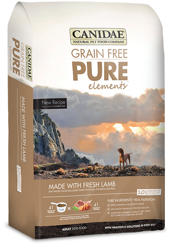 Canidae Grain Free Pure Elements Adult Dog Formula Made with Fresh Lamb