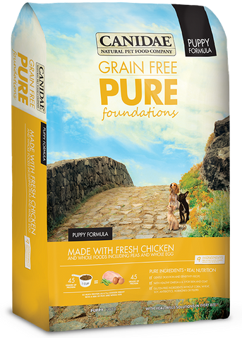 Canidae Grain Free Pure Foundations Puppy Formula Made with Fresh Chicken