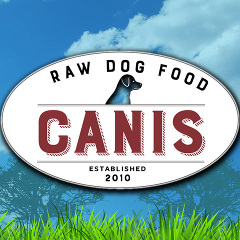 Canis Tri Blend Raw Dog Food