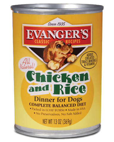Evanger's Classic Chicken & Rice Canned Dog Food