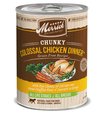 Chunky Colossal Chicken Dinner™ Grain Free Recipe Adult