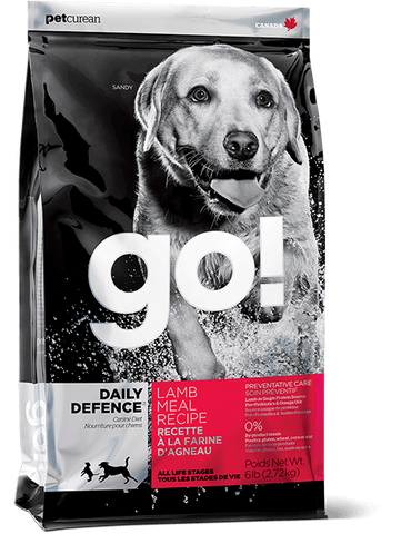 GO! Petcurean Daily Defense™ Lamb Meal Dry Dog Food