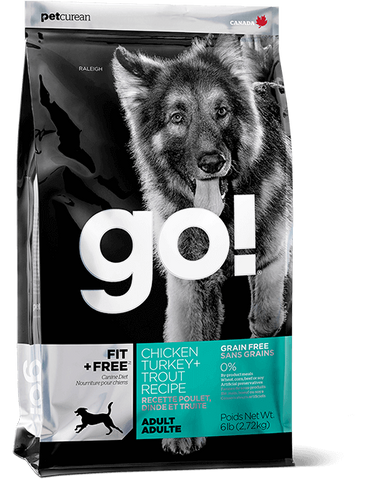 GO! Petcurean Fit + Free™ Grain Free Adult Dry Dog Food