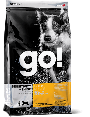 GO! Petcurean Sensitivity + Shine™ Duck Dry Dog Food