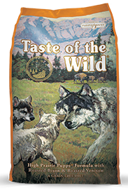 Taste of the Wild High Prairie Puppy® Formula with Roasted Bison & Roasted Venison