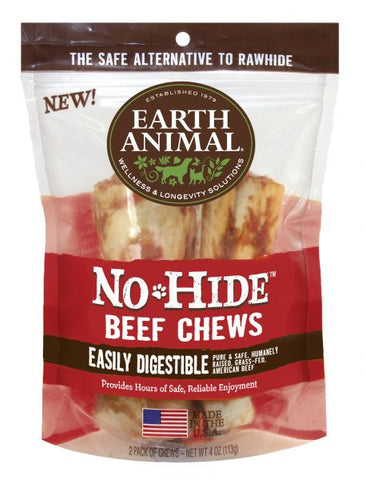 Earth Animal No Hide Beef Chews (assorted)