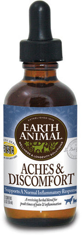 Earth Animal Aches & Discomfort Herbal Drops