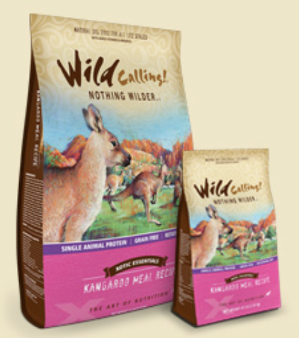 Wild Calling Kangaroo Meal Dry Dog Food