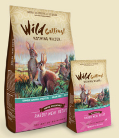 Wild Calling Rabbit Meal Dry Dog Food