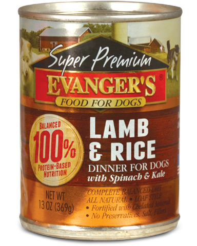 Evanger's Super Premium Lamb & Rice Dinner