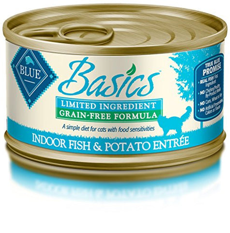 Blue Basics Limited Ingredient Feline Fish Canned Cat Food