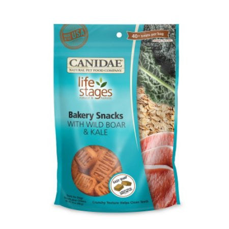 Canidae All Life Stages Bakery Snacks with Boar & Kale Biscuts