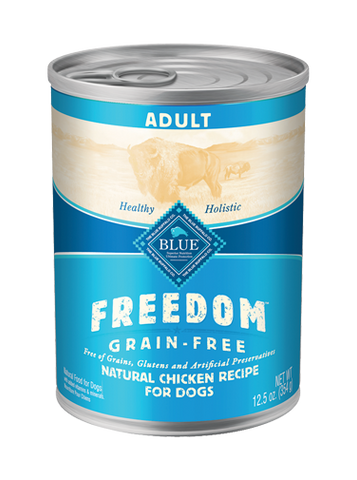 BLUE Freedom® Grain-Free Chicken Recipe Adult Canned Dog Food