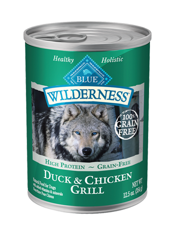 BLUE Wilderness® Duck & Chicken Grill For Adult Dogs