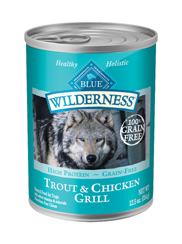 BLUE Wilderness® Trout & Chicken Grill For Adult Dogs